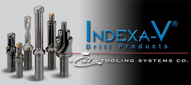 Indexa-V Drill Products | A Cole Tooling Systems Co.